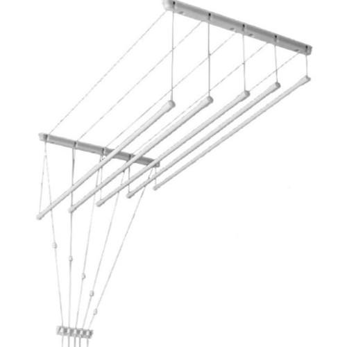 Suszarka Sufitowa łazienkowa Pranie 7 Prętów 200cm